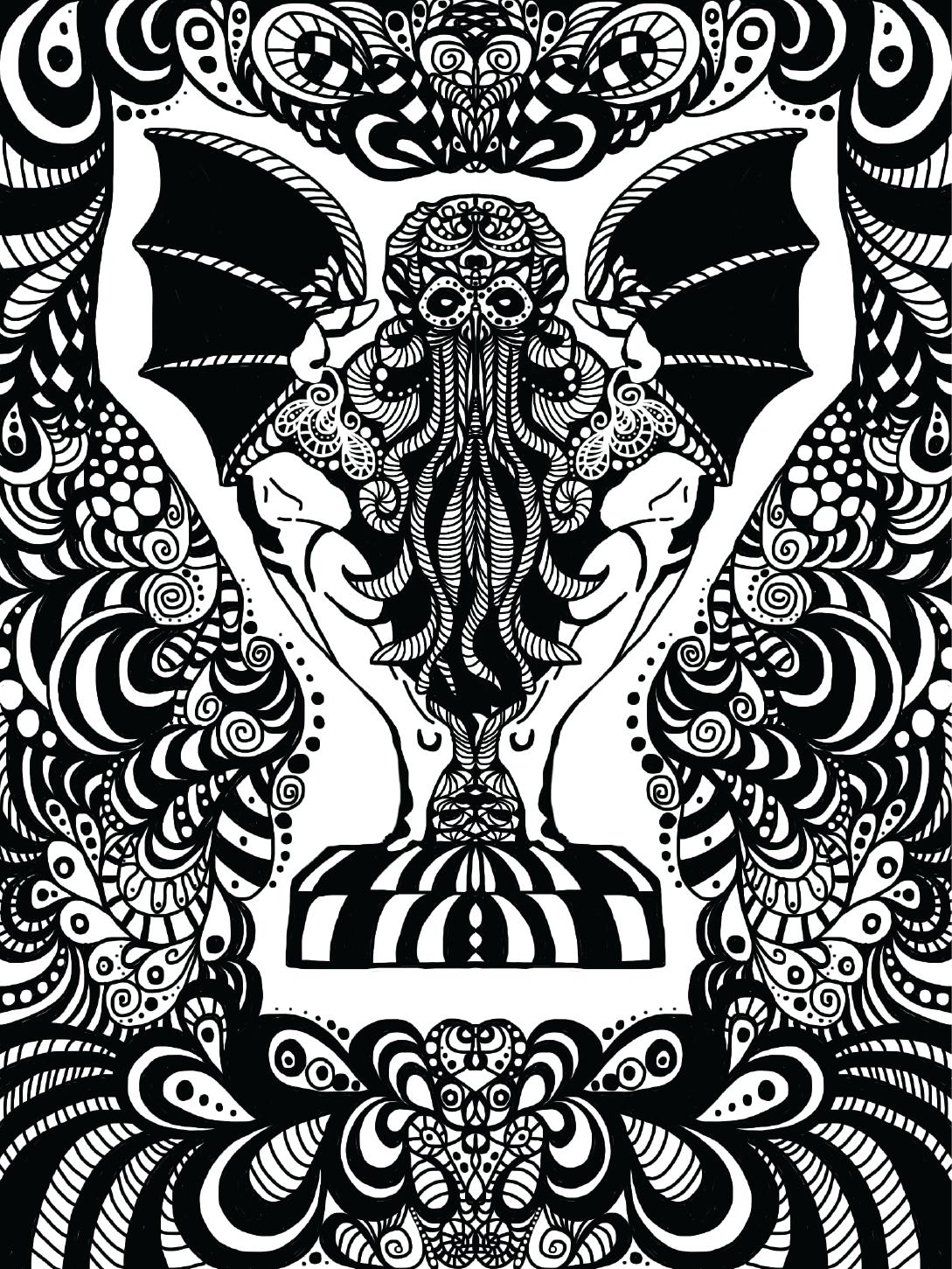 Cuthulu-doodle